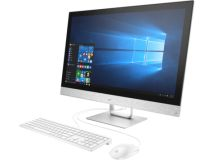 "Моноблок HP Pavilion 27-r112ur (Core i5 8400T (1.7) /8Gb /1Tb 7.2k /530 2Gb/27"" Full HD/CR/W10 /GbitEth /WiFi/BT/150W/клав/мышь/Cam/белый 1920x1080)(4HC86EA)"