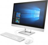 "Моноблок HP Pavilion 24-r109ur (Core i5 8400T(1.7Ghz) /8Gb /1000Gb /DVDrw /HD Graphics 630 /23.8"" /1920x1080 /IPS /Cam /BT /WiFi /war 1y /7.8kg /Blizzard White /DOS + USB KBD, USB MOUSE )(4GM34EA)"