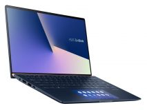 "Ноутбук Asus Zenbook UX434FLC-A6210T (Core i5-10210U /8GB /512GB SSD/MX250 2Gb /14.0"" FHD 300-nits/W10 /Royal Blue )(90NB0MP1-M04830)"